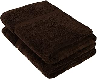 Cleanup Towels JUMBO Bath Sheet Towel Set of 2, Extra Large 180 cm x 100 cm, 600 GSM Ultra Thick Premium Terry Cotton High...