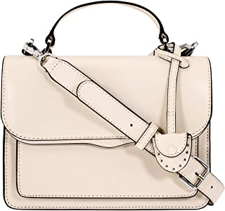 Rebecca Minkoff Top Handle Ladies Medium Antique White Leather Crossbody Bag HF17ECZD22-101