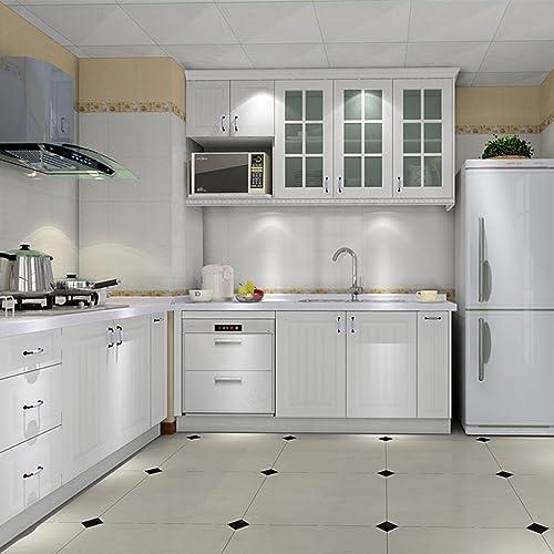 multicolore salle de bain Pour cuisine lit /étag/ère En PVC imperm/éable 0,15 mm Papier peint autocollant mural 50 cm x 3 m tiroir Pour tiroir salon