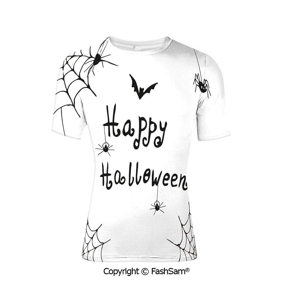 T Shirts Happy Halloween Banner Greetings Pumpkins Skull Cross Bones Bats Pennan