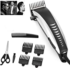 Hughdy Electric Hair Clipper Professional Mens Hair Trimmer Household Low Noise Beard Shaver Personal Haircut Tools