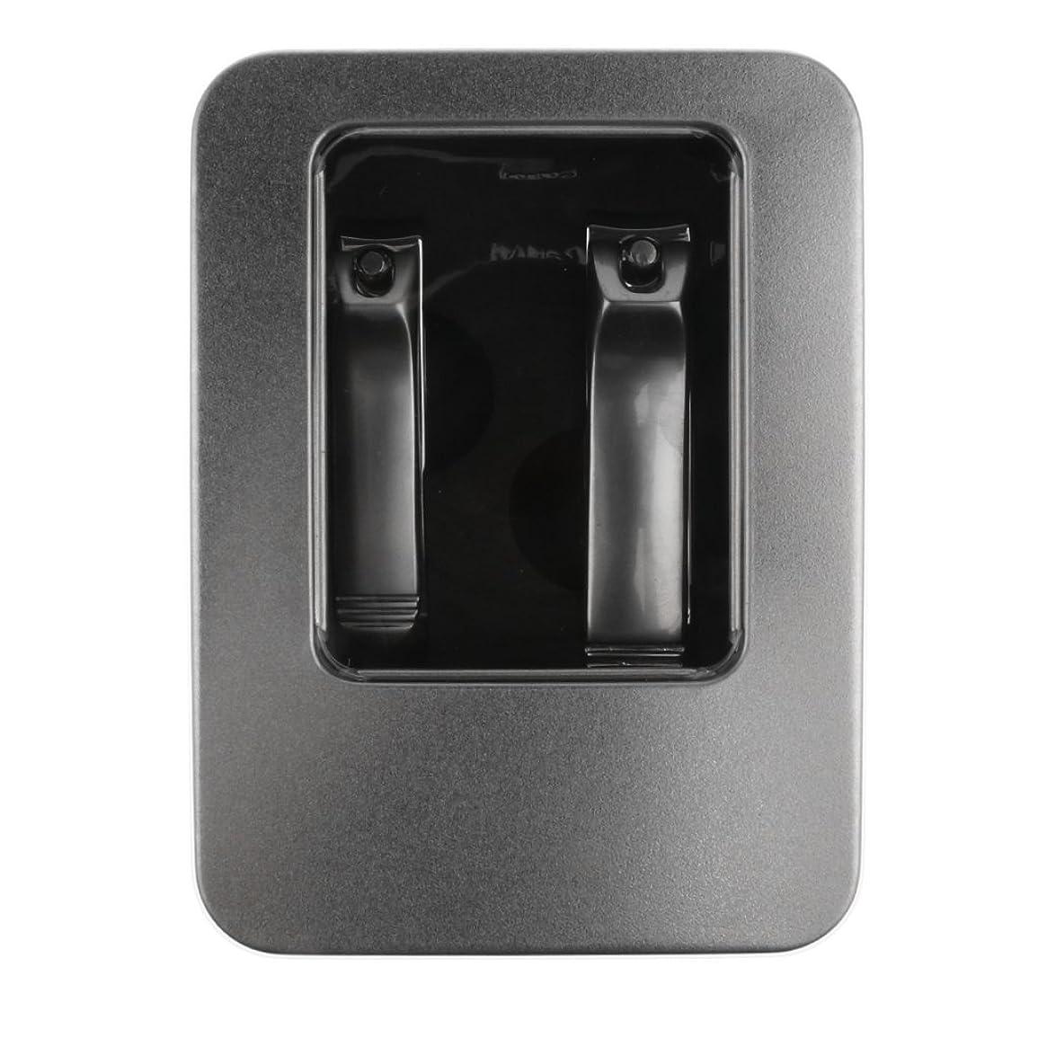 郵便物温帯国CUTICATE 安全2ピーススチールネイルカッターはさみ指の爪の爪切りツールツールセット