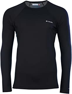 Omni-Heat Mens Midweight Stretch Baselayer Long Sleeve Shirt