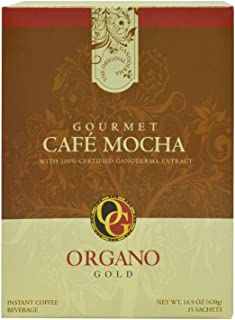3 Box Organo Gold Cafe Mocha 100% Certified Organic Organic Gourmet Coffee