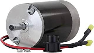 NEW 12V DC ELECTRIC SPINNER MOTOR FOR WESTERN TORNADO 10T COGGED PULLEY 78300