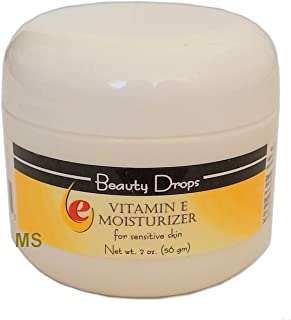 Beauty Drops Vitamin E Facial Moisturizer Cream 2oz (2 Pack)
