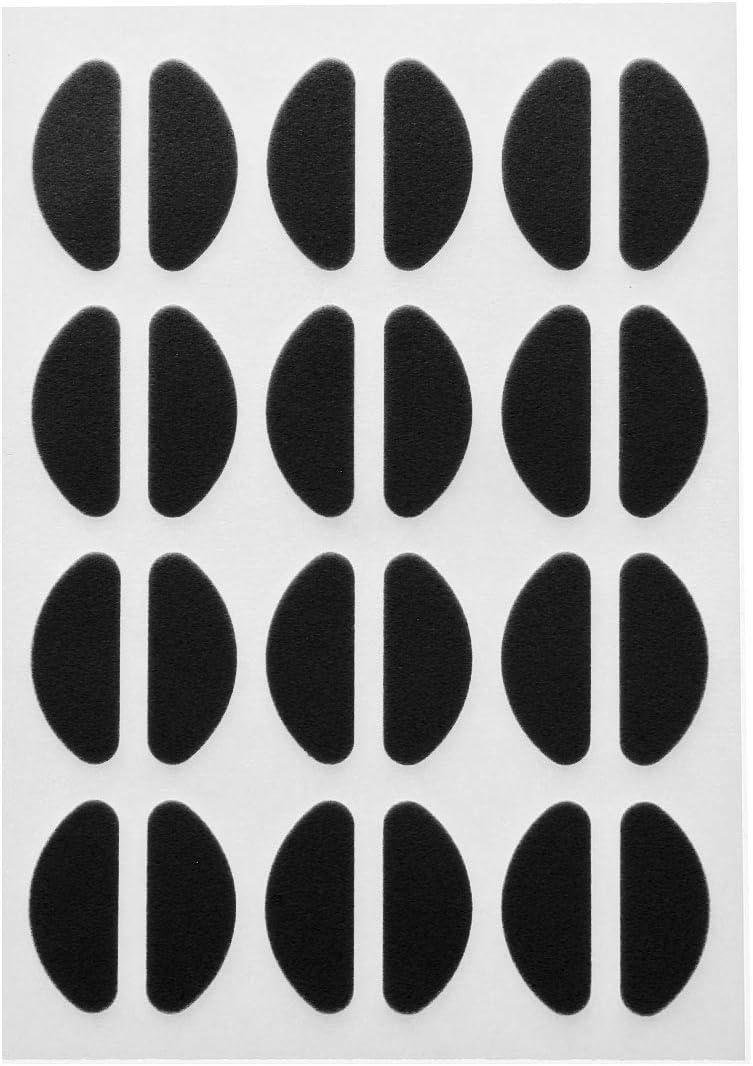 Alvivi 12 Pairs Max 90% OFF Soft Nose Pads Anti Foam Under blast sales Adhesive Self