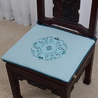 中国語 高級 マホガニー チェアパッド, な ソファ マット シートクッション 籐 チェアクッション 厚い ノンスリップ シートカバー-v 42x38x2cm