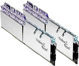 G.SKILL Trident Z Royal Series 16GB (2 x 8GB) 288-Pin DDR4 SDRAM DDR4 3600 (PC4 28800) DIMM F4-3600C17D-16GTRS