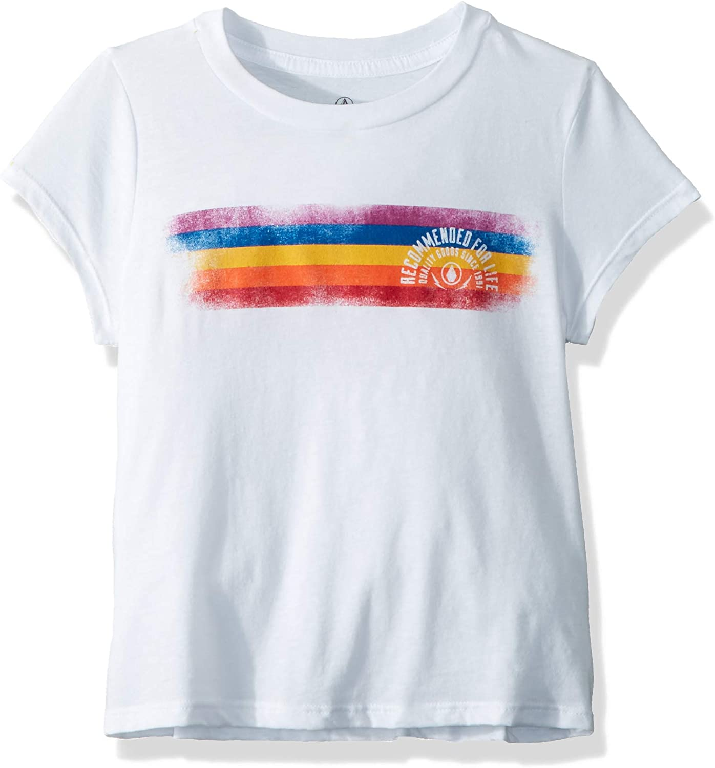 Excellent Volcom Little Girl's Last Recommended Crewneck Party Tee Shirt