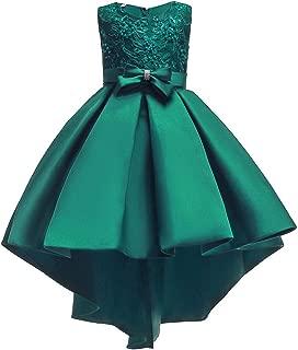 Elegant Girls Dress 2019 Summer Toddler Girls Wedding Dress Kids Dresses for Girls Princess Evening Party Dress,Green,9