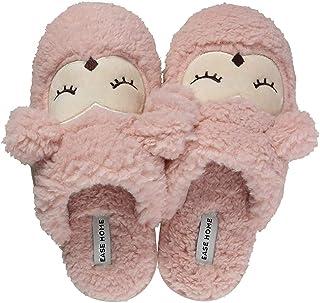INMINPIN Pantofole Ragazze Inverno Pantofole Donna Comfort Peluche Memory Foam Scarpe da Casa Ragazzi Morbido Antiscivolo ...