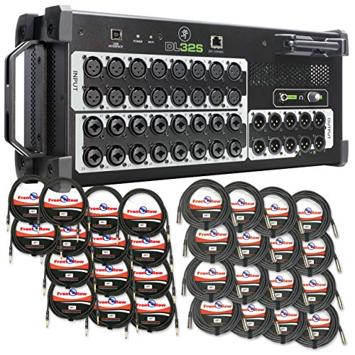 Review Of Mackie DL32S 32-Channel Wireless Digital Live Sound Mixer with Built-In Wi-Fi (With (16) F...