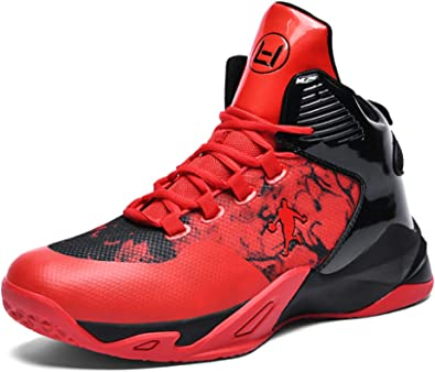 Mens Personal Basketball Shoes Trainers High Elastic Shock Technology New KPU+Fabric Lightweight Air Precision Basketball Shoes