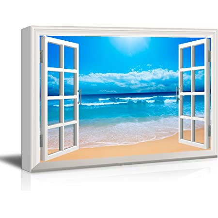 Wall26 Clear Waves And Fine Sand Beach Canvas Art Wall Art 24 X36 Posters Prints