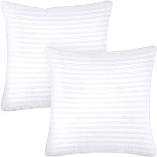 Utopia Bedding Premium Oreillers (Lot de 2) - 65 x 65 cm Oreillers Rectangulaires avec Fermeture Éclair - Tissu en Coton M...