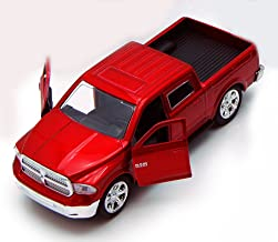 lifted red dodge ram 1500