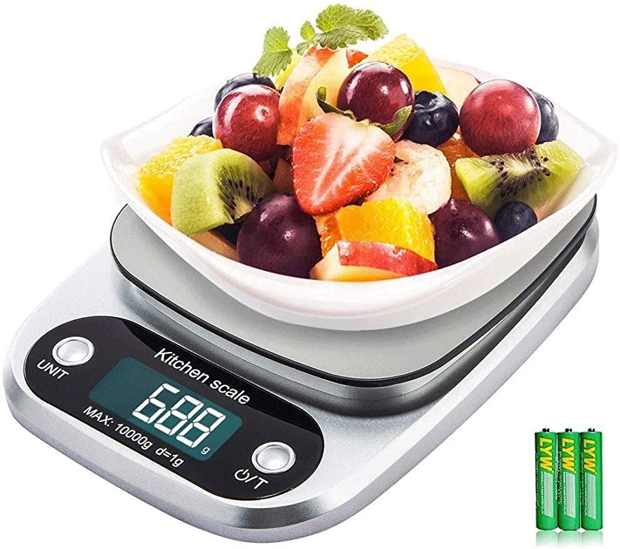 High Precision Electronic Scales Household Commercial Supermarket Kitchen Store Weighing Scales Accuracy 10kg 1g Portable And Easy To Use