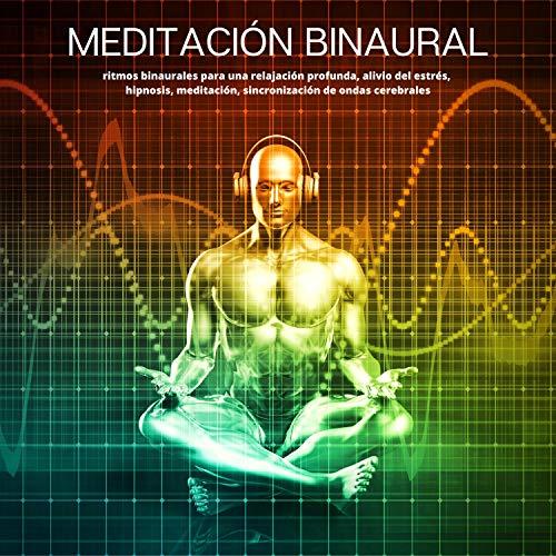 Diseño de la portada del título Meditación Binaural