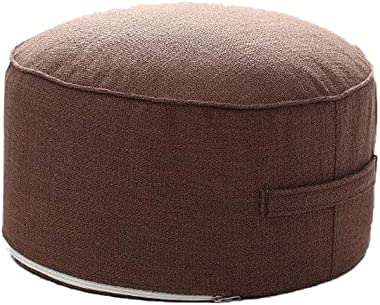 Thicken Floor Cushions Seating for Adults - Yoga Meditation Cushion Pillow Tatami Round High Strength Sponge Seat Mat Pillows