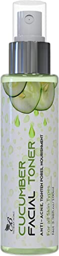 The Body Avenue Cucumber Face Toner for Anti Acne, Pore Tightening, Skin Purifying for Oily, Acne Prone & Dull Skin