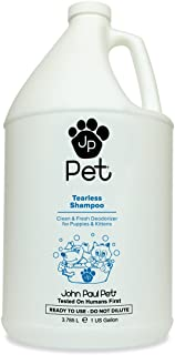 John Paul Pet Tearless Odor Absorbing Shampoo, Clean and Fresh Low PH Formula for Puppies, Dogs, Kittens and Cats