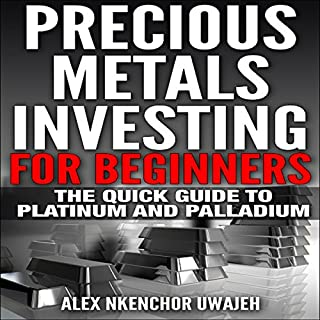 Precious Metals Investing for Beginners cover art