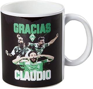 Werder Bremen SV Tasse, Becher, Kaffeetasse Gracias Claudio, 20-30062