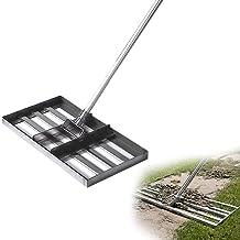 Golftuin Gras, gereedschap, gazon nivellering Hark-grondplaat, vlakke grond of vuil Bodemoppervlakken gemakkelijk, roestvr...