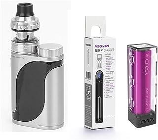 Auténtico Eleaf Istick Pico 25 Cigarrillo electrónico 85W Kit de inicio (Plata / Negro) Eleaf Pico25 con 1 X EFEST 3000 mAh Batería y cargador de 18650 batería PEACEVAPE™ Sin Tabaco - Sin Nicotina