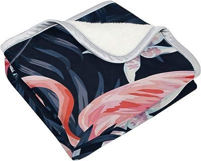 Handysome Cozy Throw Blanket, Warm Blanket for Sofa Bed Super Soft Lightweight Blanket (50
