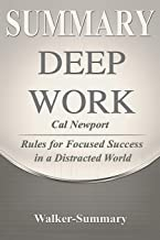 Summary: 'deep Work by Cal Newport' - Rules for Focused Success in a Distracted World
