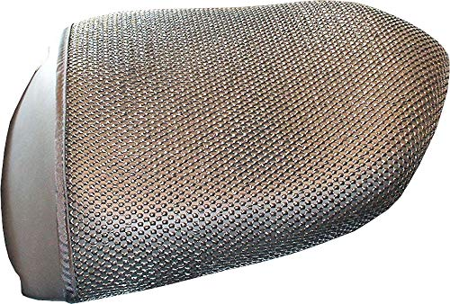 Cubierta TRIBOSEAT para Asiento Antideslizante Accesorio Personalizado Negro Compatible con BMW K1200GT (2006-2008)