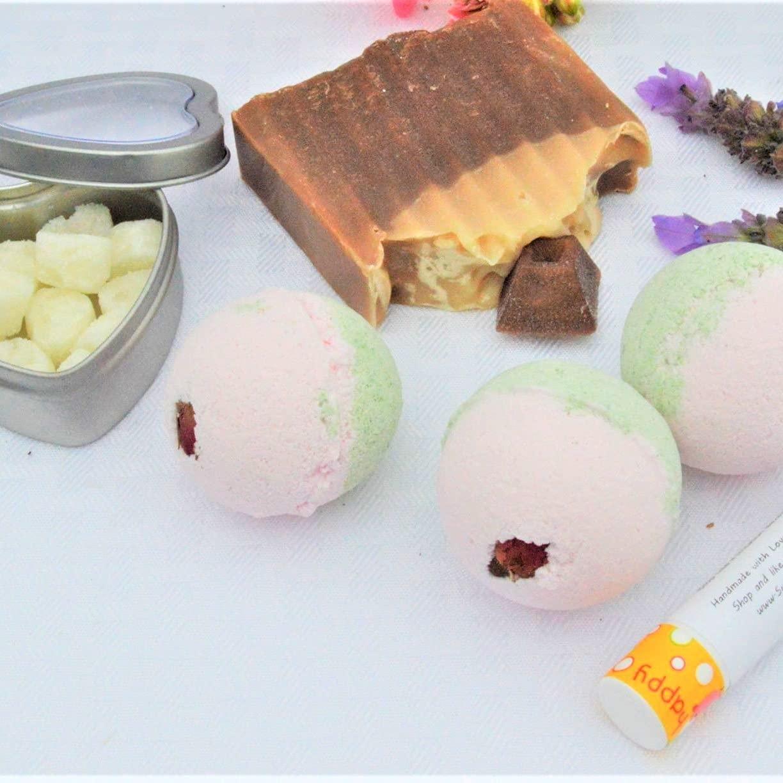 Coffee Mocha Skin Care Set. Spa Excellence 5 popular Handmade Treatment. CA USA. in