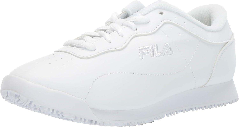 Fila Womens Memory Viable Slip Resistant Work shoes Food Service shoes