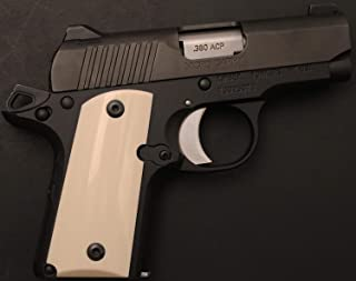 DURAGRIPS - Kimber Micro Carry .380 380 ACP Grips - Smooth - Faux Ivory
