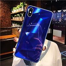 URFEDA Compatibel met iPhone XS Max telefoonhoesje Diamond Glitter Case met spiegeleffect Sparkly Bling TPU Siliconen + Du...
