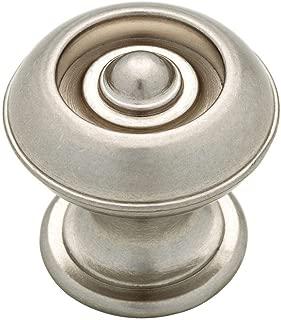 Martha Stewart Living Liberty 1-3/16 In. Button Cabinet Hardware Knob