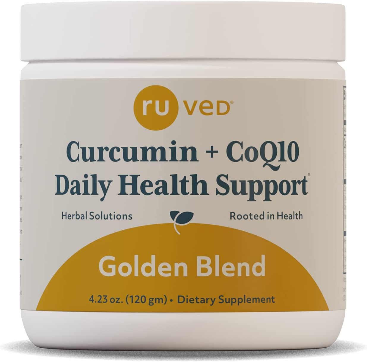 Ruved Golden Blend OFFer Curcumin Powder Black Pepper with and CoQ10 Oakland Mall