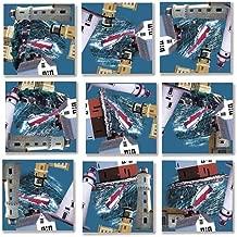 B Dazzle Great Lakes Light Scramble Squares 9 Piece Puzzle