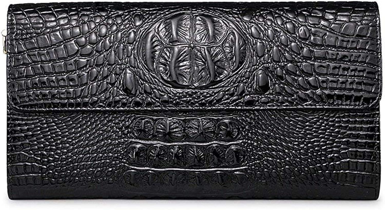 HEYJIE Evening Clutch Bag Pattern Ladies Hand Bag, Female Shoulder Leather Ladies Evening Bag, Chain Packet Purse Handbag (color   Black)