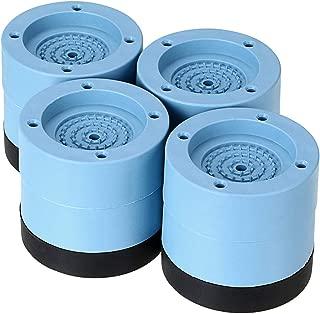 MDLUU 4Pcs Washer and Dryer Anti-Vibration Pads & Washing Machine Floor Pads & Anti-Walk Mat, Noise Reducing Shock Absorbing Fit Most of Anti-Vibration Appliance Feet