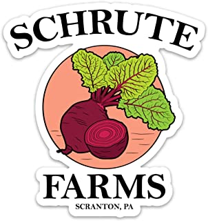 Best schrute farms sticker Reviews