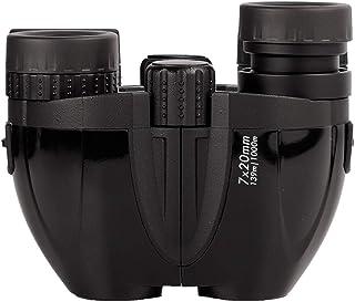 BRESSER 7X20 Kids Binoculars, Compact Binoculars High Resolution Shockproof, Small Binoculars for Children Teen Boys Girls...