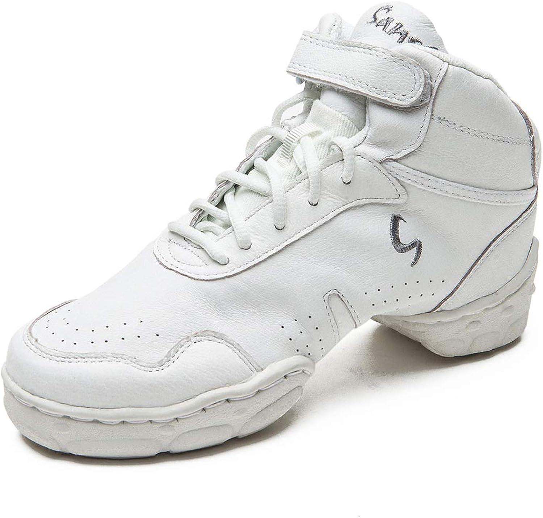 US 18 // Skazz 19 M Skazz by Sansha Womens Dance Studio Exercise Sneakers Canvas Suede TPR Split-Sole Boomelight