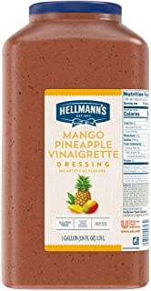 Hellmann's Mango Pineapple Vinaigrette Salad Dressing Jug Gluten Free, No Artificial Flavors, Colors from Natural Sources,...