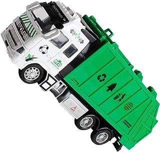 rongweiwang Barn 1:18 dra tillbaka legering ABS sanering lastbil leksak sanering lastbil barn fordonsmodell pojkar