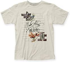 Pink Floyd The Wall Bricks And Teacher Men's White T-Shirt (S)