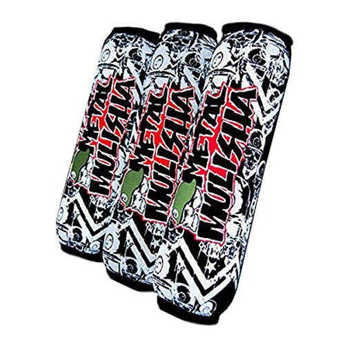 CFL Quad Racing Products - Fundas de neopreno con cremallera Mulisha/Sox Suzuki LTZ400