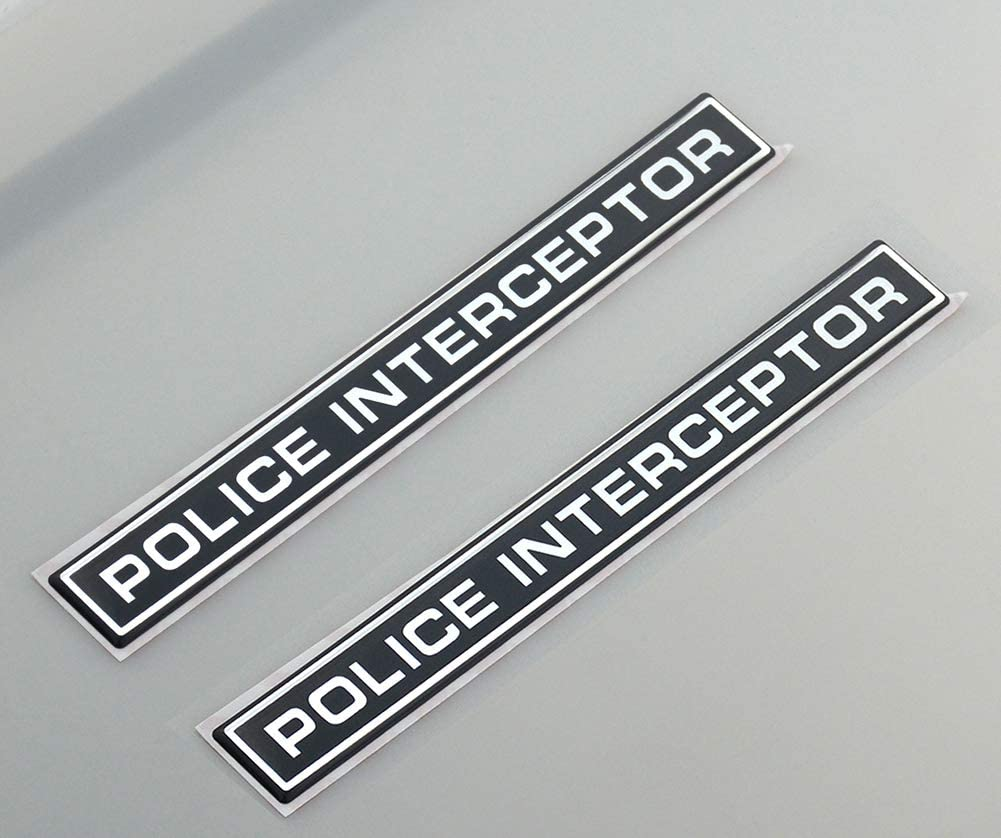2x Police Louisville-Jefferson County Mall SEAL limited product Interceptor Emblem 3D Sticker Replacem Car Badge Decal